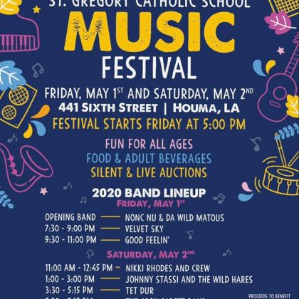 Music Festival! May 1st and 2nd