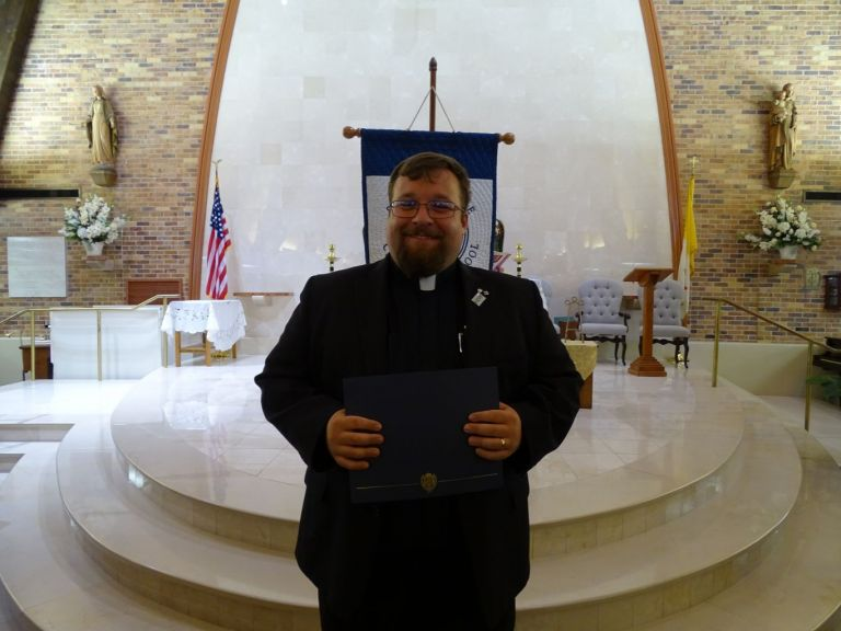 Special Service Award for Father Alex