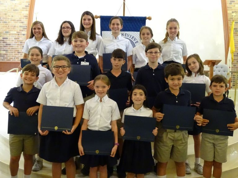 Academic Excellence Award Winners