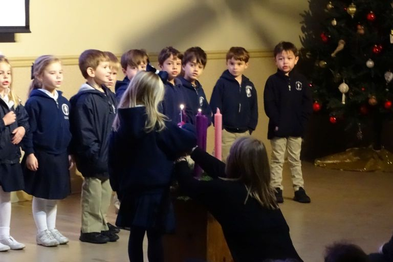 YK Advent Wreath Lighting