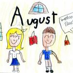 Monthly School Calendar - August 2017