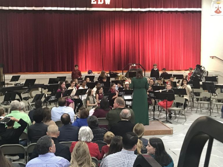 6th Grade Christmas Band Concert